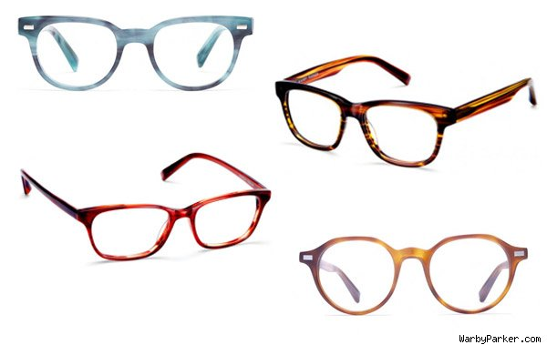 Warby Parker glasses