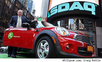 Avis buying Zipcar in deal worth nearly $500 million
