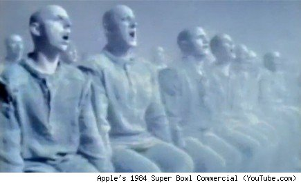 Apple's 1984 Super Bowl Commercial (YouTube.com)