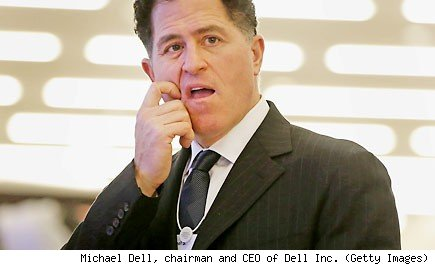 Michael Dell, chairman and CEO of Dell Inc. (Getty Images)