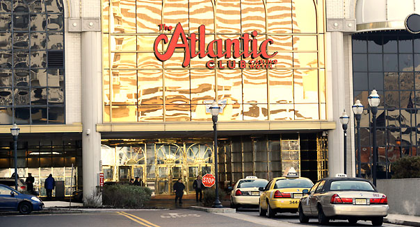 The Atlantic Club Casino and Hotel is seen Thursday, Feb. 14, 2013, in Atlantic City. (AP Photo/Mel Evans)