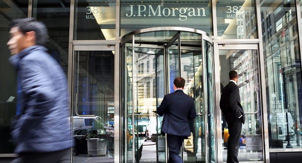 JPMorgan facing federal action over power plant
