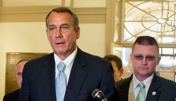 John Boehner Taxing the Rich