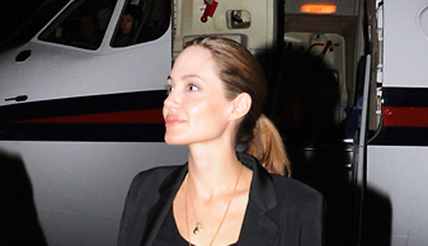 Sales of Angelia Jolie jewelry line to fund girls schools in Afghanistan