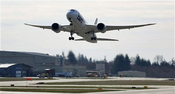 boeing 787 dreamliner FAA resumes flight