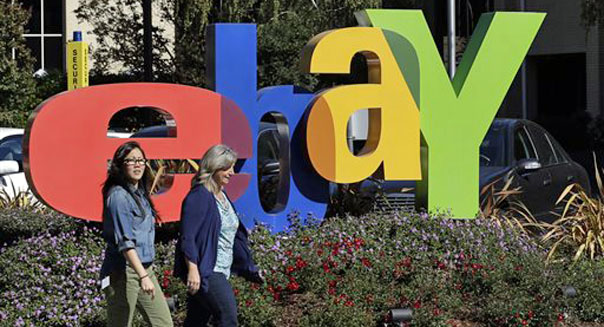 ebay first quarter earnings Internet