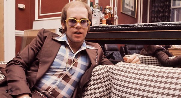Elton John early 1970's UK  - Getty Images