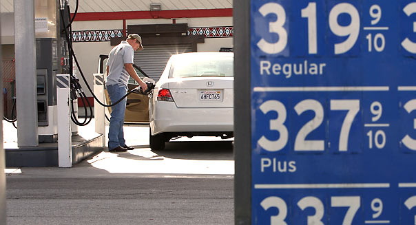 Gas Prices - David McNew/Getty Images