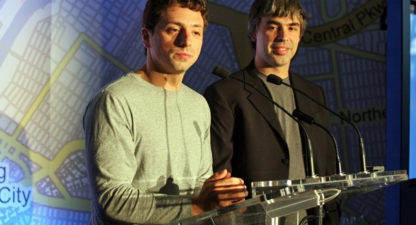 google founders larry page sergie brin executive pay
