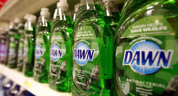 procter gamble earnings dawn dish soap