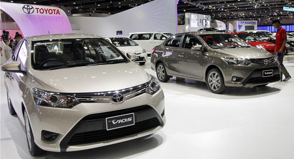 toyota world's top-selling automaker