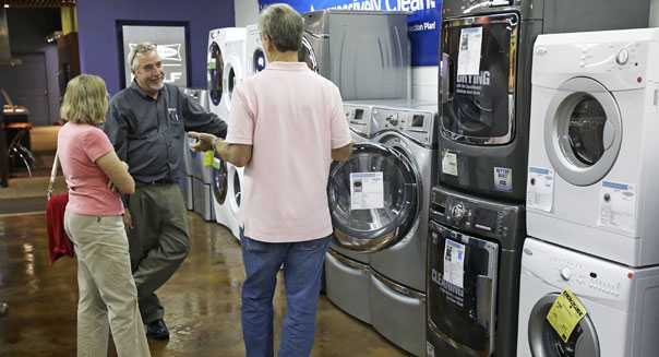 consumers appliance shopping durable goods