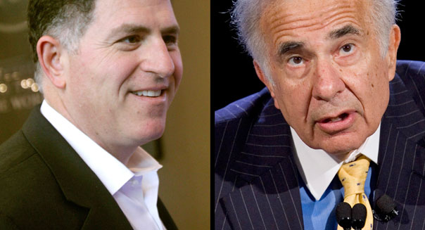michael dell carl icahn