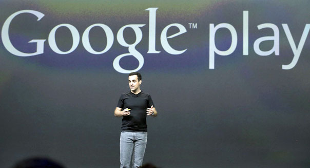 Hugo Barra, vice president, Android Product Management at Google, speaks at Google I/O 2013 in San Francisco