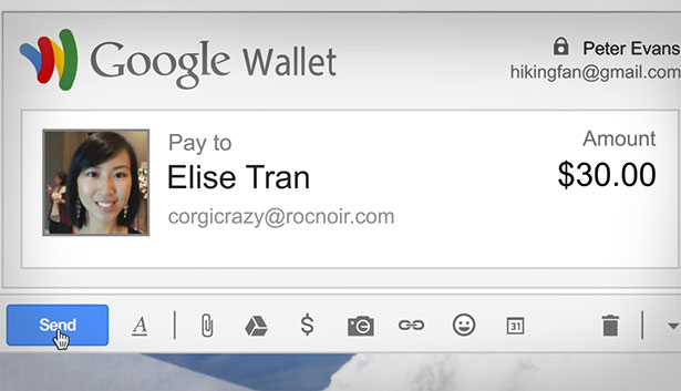 Google wallet and gmail