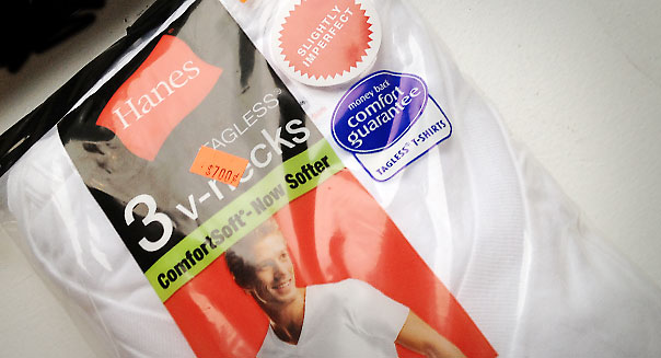 Pack of Hanes Shirts