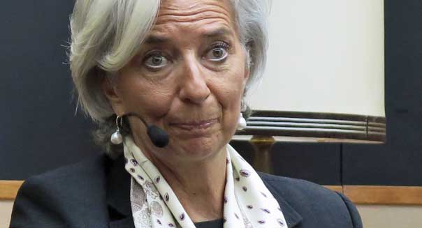 christine lagarde imf chief u.s. budget cuts