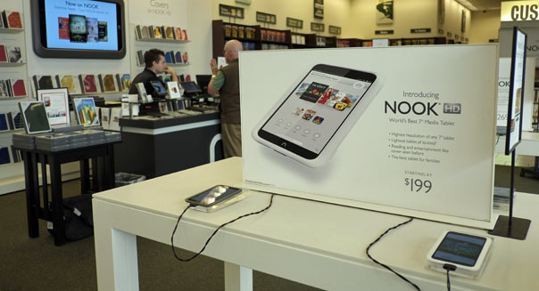 barnes noble google play nook