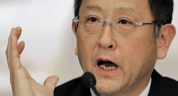 toyota earnings akio toyoda