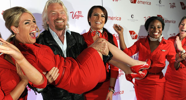 richard branson virgin america