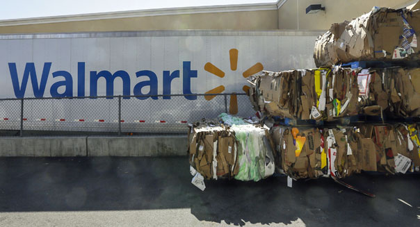 walmart cardboard recycling hazardous waste