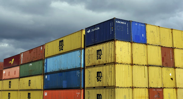 april wholesale inventories containers manufacturing economy recovery