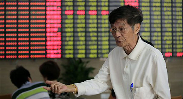Chinese stocks plunge by most in 4 years
