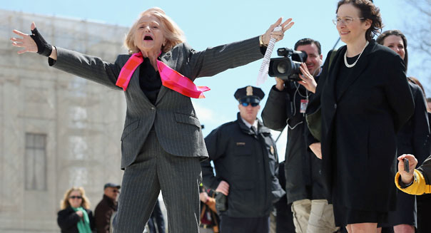 Edith Windsor Supreme Court Washington case challenge constitutionality Defense of Marriage Act DOMA
