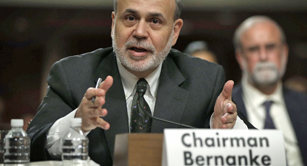 federal reserve chairman ben bernanke stimulus bond buying investors stock markets