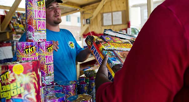 Fireworks july fourth budget tips
