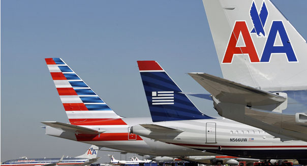 american airlines us airways airplanes gao report merger reduce competition