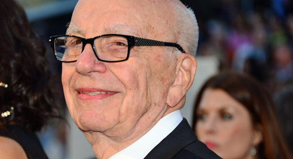 rupert murdoch chairman news corp. fox network ad revenue
