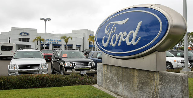 ford motor earnings automotive industry auto sales china u.s. manufacturing industry