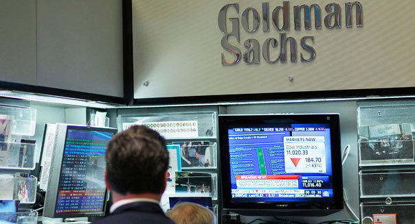 goldman sachs earnings stock bond underwriting wall street