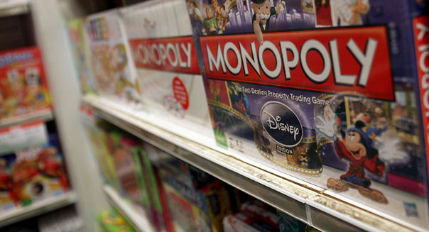 electronic arts hasbro board games monopoly