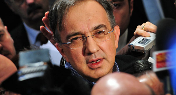 sergio marchionne fiat chrysler stock bailout automaker manufacturing