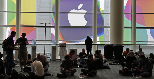 apple developers conference stocks investing wall street earnings technology