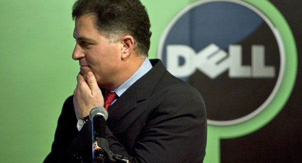 CEO Michael Dell shareholder vote dividend payment carl icahn computers PCs