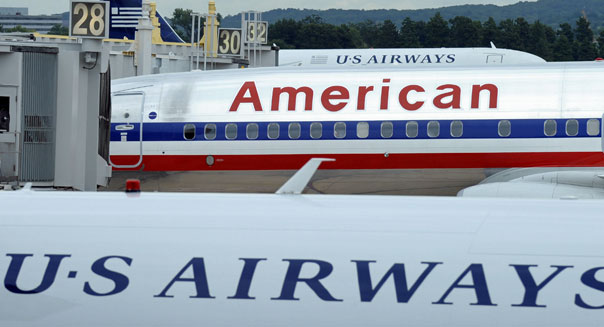 us airways american airlines merger aal