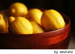 lemons, cleaning