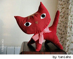 Pointy Kitty made by Tania Ho