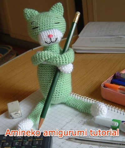 Cheshire Cat Amigurumi Crochet Pattern Free : AMIGURUMI CAT PATTERN FREE Knitting PATTERNS