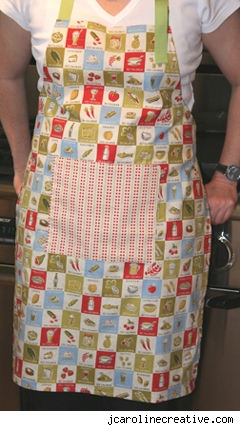 Sew Much Ado: The Little Apron Free Pattern and Tutorial