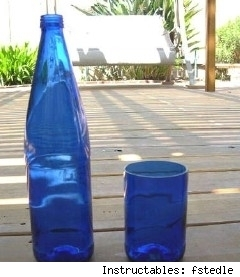 How to for Make glasses out of bottles