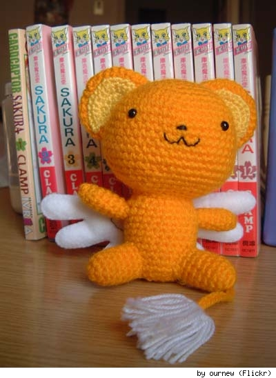 Kerochan from Card Captor Sakura, by Flickr user ournew