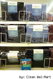bed sheets, clean wal mart