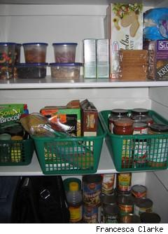 organized pantry