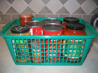 Sort into baskets
