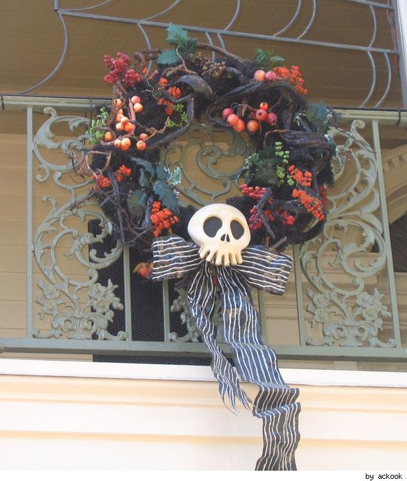 Haunted Mansion Holiday wreath
