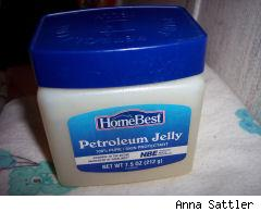 my jar of petroleum jelly
